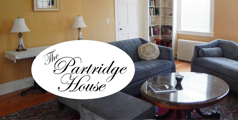 Partridge House Vermont study